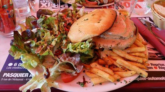 La Plage : Burger