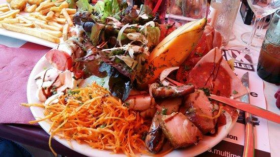La Plage : Salade copieuse