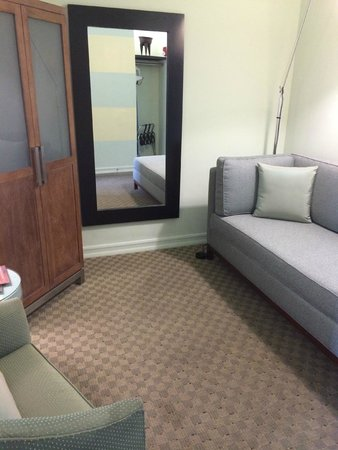 Acqua Hotel Mill Valley: sitting area