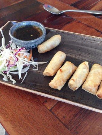 Chilli Banana Thai Restaurant: Veggie spring roll starter