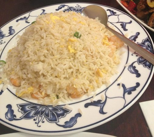 Sanbao Chinese Kitchen: Rice with egg & prawns (should be dried shrimp)