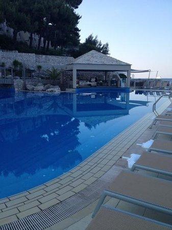 Hotel Dubrovnik Palace: bar de la piscine