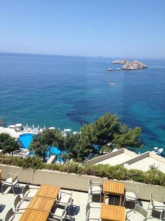 Hotel Dubrovnik Palace: vue du 7ème étage