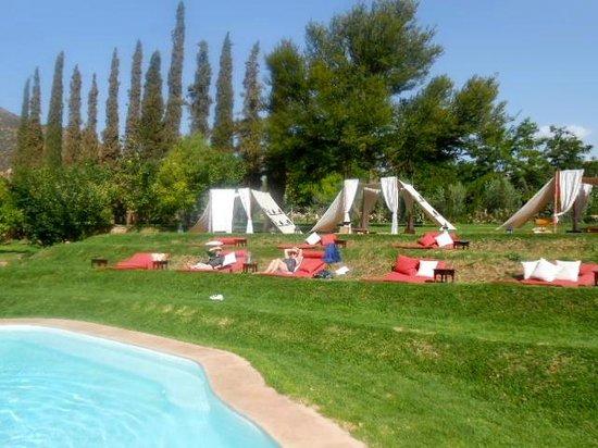 Kasbah Tamadot: Relaxing area