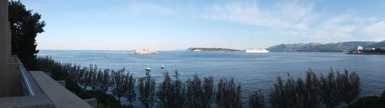 Hotel Dubrovnik Palace: View from the Balcony - morning