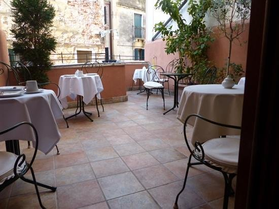 Hotel Casa Verardo - Residenza D'Epoca: terrasse du petit dejeuner