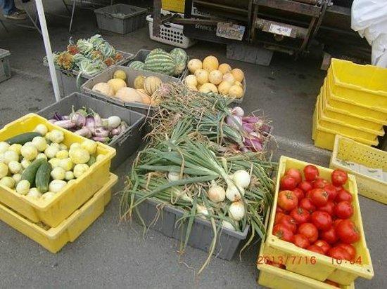 Farmer's Markets in Napa: 野菜のお店