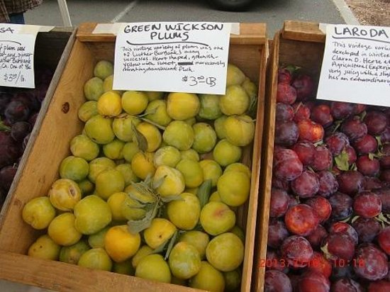 Farmer's Markets in Napa: プラム