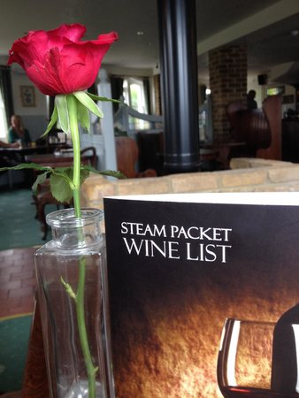 The Steam Packet: Lovely lunch, really friendly welcome