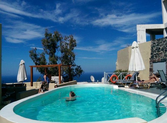 Ersi Villas: The pool