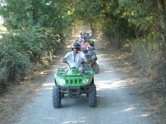 Camargue Découverte : insolite et originale : une randonnée en quad