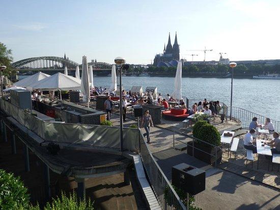 Rheinterrassen: terrazza