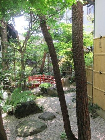Oyado Yamakyu: Ryokan garden