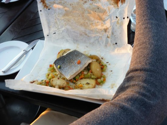 Rheinterrassen: piatto di pesce