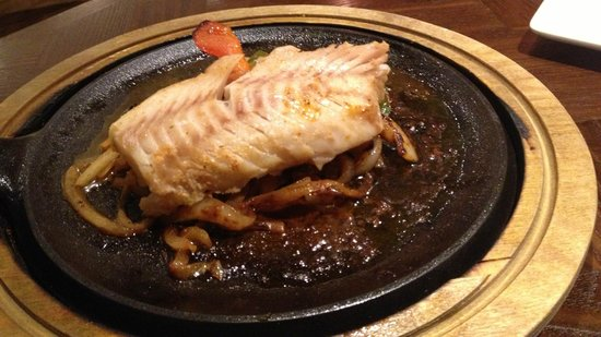 Chiquito - Feltham: Really terrible, rubbery cod fajita with tonnes of onion & no other veges