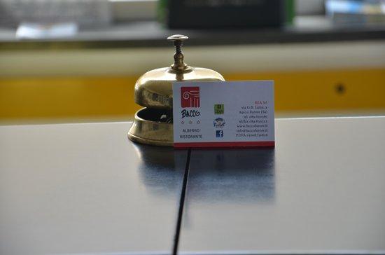 Hotel Bacco: Benvenuti!