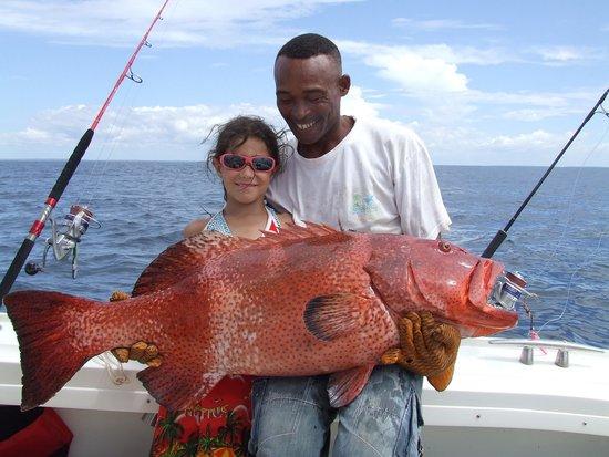 Antsanitia Resort : Pêche au gros pour tous