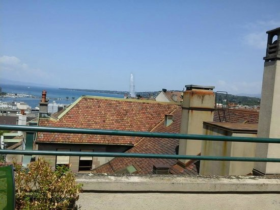 Home St.Pierre: View from the rooftop terrace
