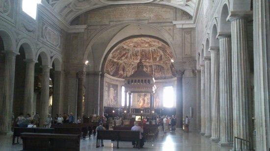 San Pietro in Vincoli: общий вид