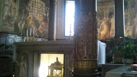 San Pedro Encadenado (San Pietro in Vincoli): вериги