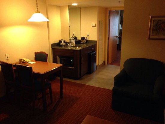 Embassy Suites by Hilton Columbus Dublin: Living area/wet bar room 410