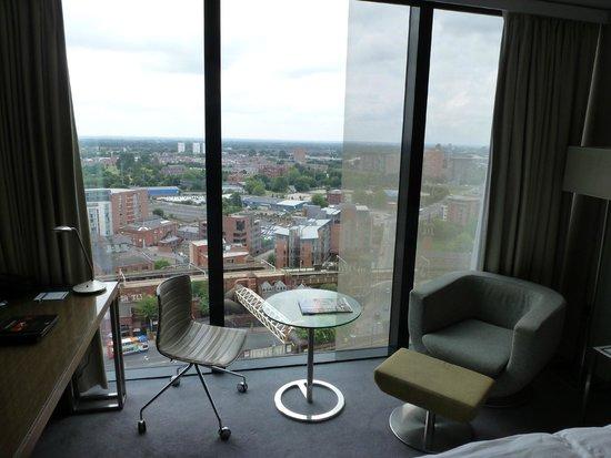 Hilton Manchester Deansgate: Nice view