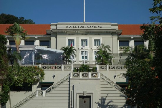 Hotel Fort Canning : Hotel front
