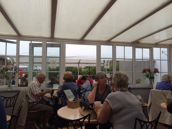 Coffee House Cafe: View from conservatory