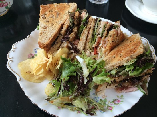 The Goose Cafe: Goose Club Sandwich