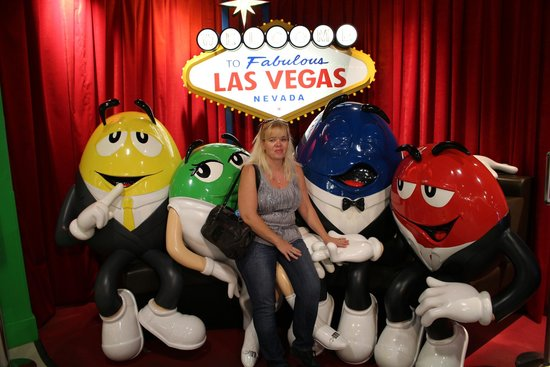 M&M's World: fun with the M&Ms