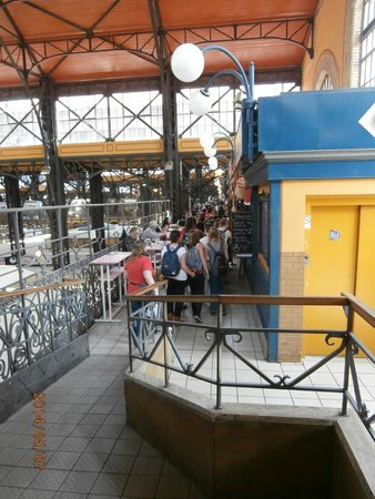 Central Market Hall: Fast food section on second floor