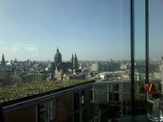 DoubleTree by Hilton Hotel Amsterdam Centraal Station: From my desk