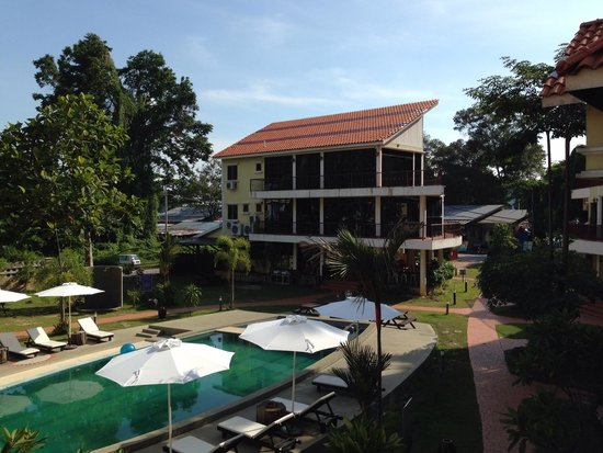Anjungan Beach Resort: View from room