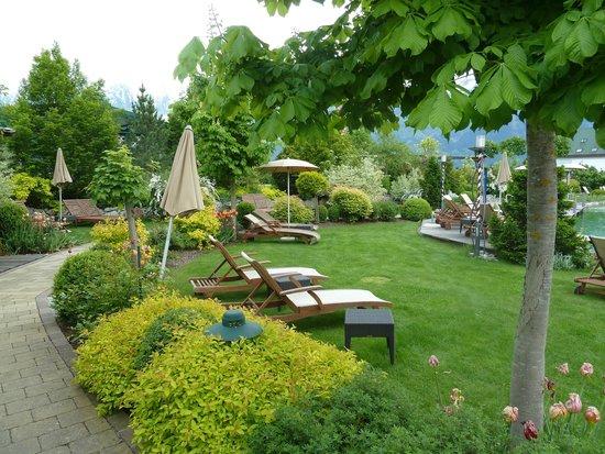 Alpenresort Schwarz : Im Traumgarten