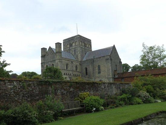 Hospital of St Cross: The beautiful Church of St Cross