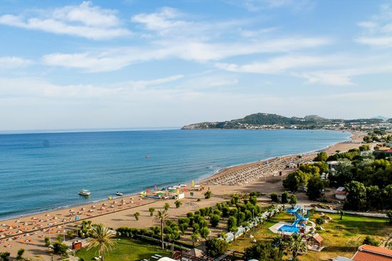 Pegasos Deluxe Beach Hotel: Пляж Фалираки