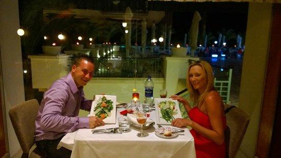 Stella Di Mare Beach Hotel & Spa: Corallo Rosso Restaurant (Photo Taken By Ibrahim Mansour)