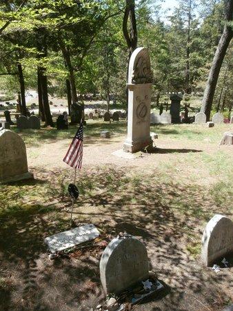 Sleepy Hollow Cemetery: Alcott tombstone