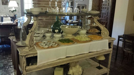 Hotel Zubieta: Breakfast buffet