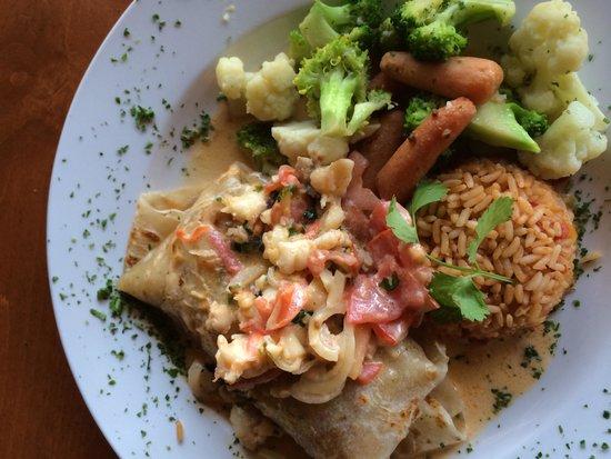 Cabo Wabo Cantina: Lobster Burrito