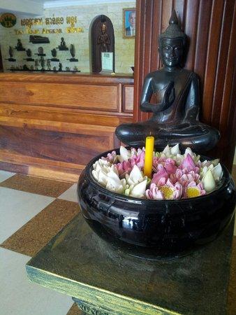 Tan Kang Angkor Hotel : Hotel lobby