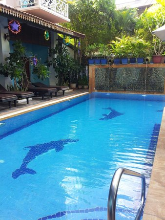 Tan Kang Angkor Hotel: Hotel swimming pool