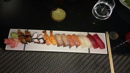 Bushido Restaurant: Chef's selection