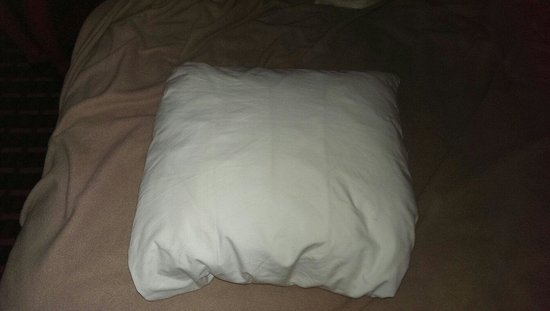 Baymont Inn & Suites Mundelein Libertyville Area : Is that a pillow or a square marshmallow for 'snores??