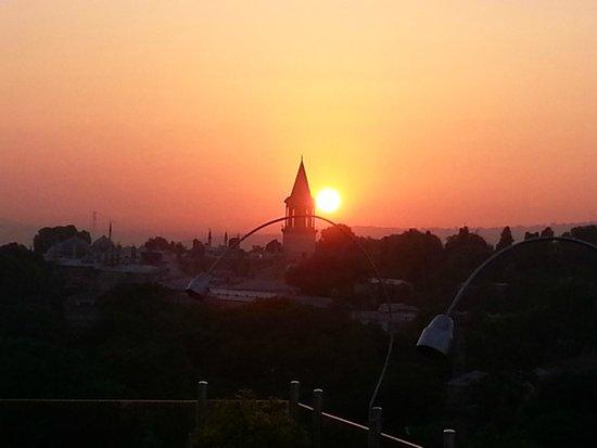 Adamar Hotel : Aussicht Terrasse / Sonnenaufgang
