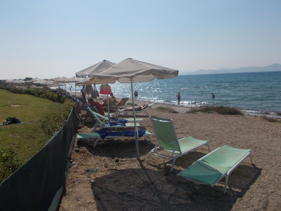 Astir Odysseus Kos Resort & Spa: direct access to the beach