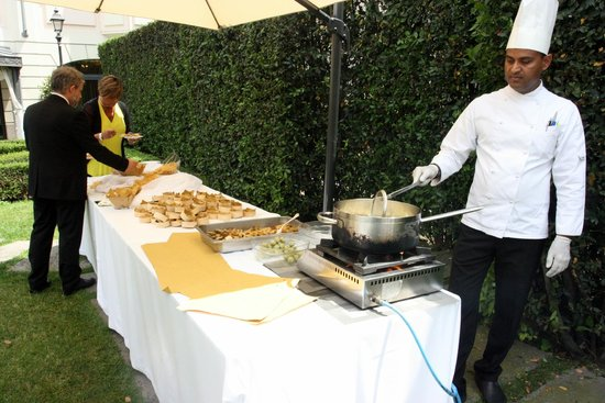 Grand Visconti Palace : fried food