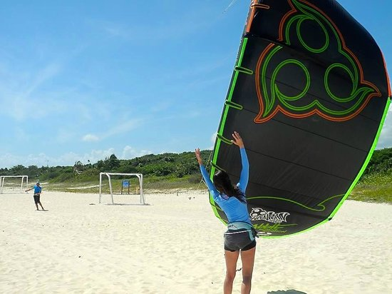 PDC Kiteboarding School and Water Sports Center: Safety instruction at PDC Kiteboarding is excellent with IKO certified instructors.