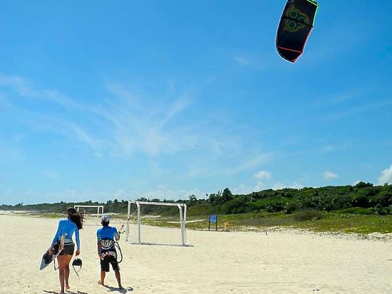 PDC Kiteboarding School and Water Sports Center: PDC Kiteboarding's location is beautiful, & the wind is consistent & perfect for learning.