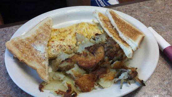 Clary's Country Corner Restaurant: Diablo omelet